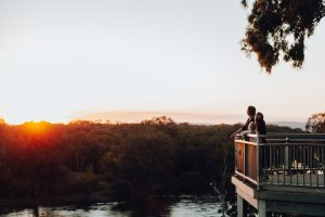 Murray River lookout
